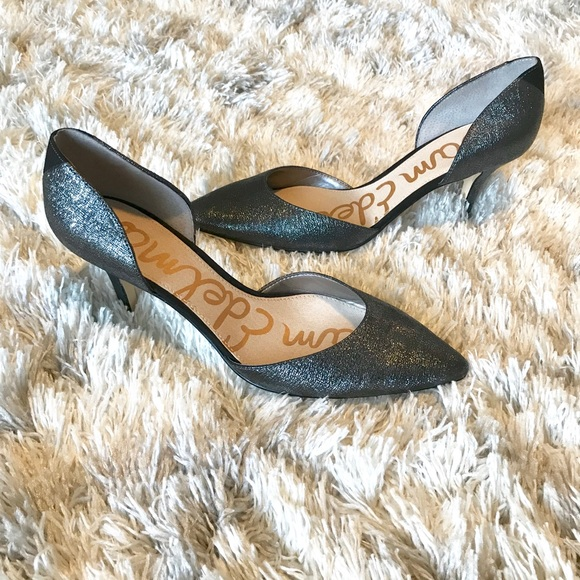 a9c7cf852e7bc0 Sam Edelman heels sparkly Opal D orsay 7 1 2